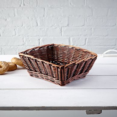 Chunky Weave Wicker Tray