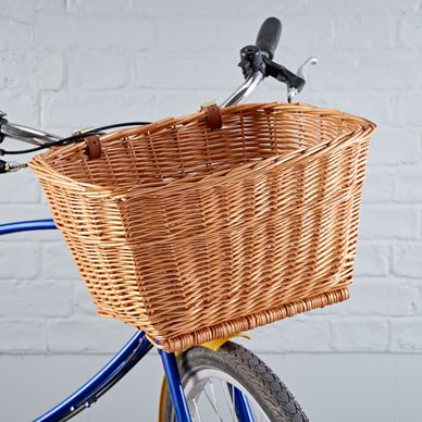 Classic Wicker Bike Basket