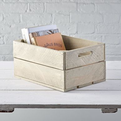 Vintage Style Crate