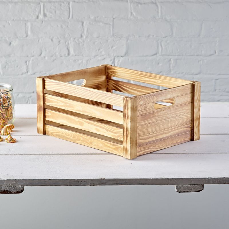 Home · Kitchen Storage · Large Wooden Crate · Elswith Aug1729871