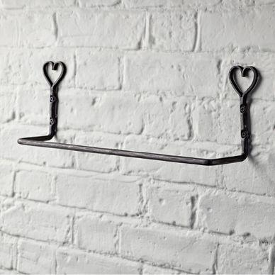 Heart Towel Rail
