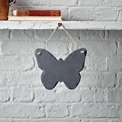 Butterfly Slate Chalkboard