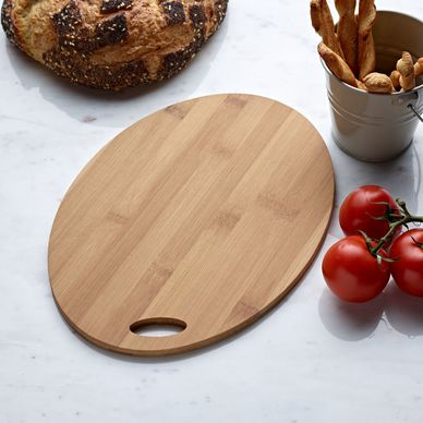 Oval Serving Board - Bamboo
