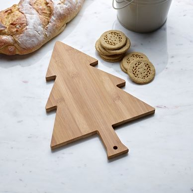 Christmas Tree Serving Board - Bamboo