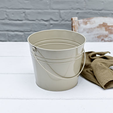Large Bucket - Olive Grey