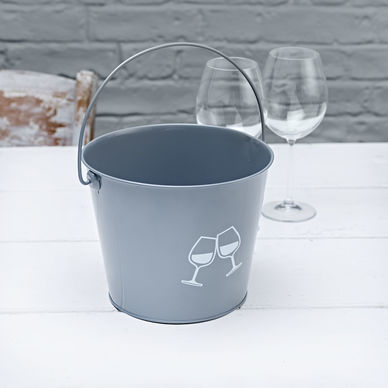 Wine Bucket - Classic Grey