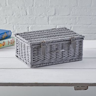 Medium Hamper - Classic Grey