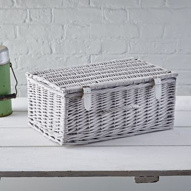 Medium Hamper - Dove Grey