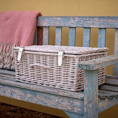 Large Hamper - Dove Grey