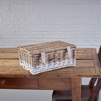 Medium Hamper - Two-Tone Grey