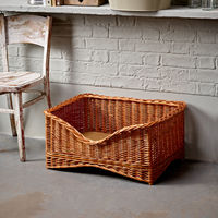 Medium Luxury Wicker Pet Basket
