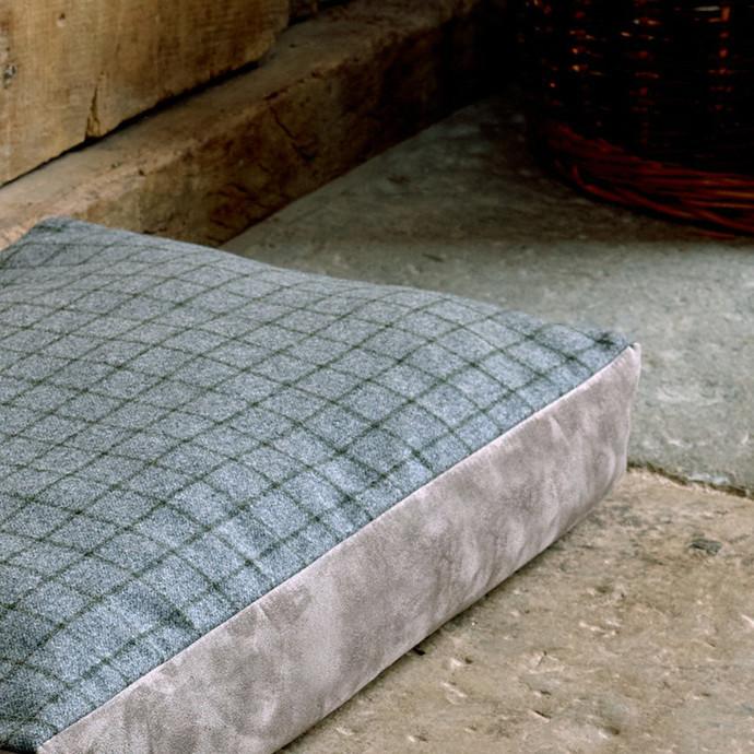 Small Luxury Tweed Pet Cushion
